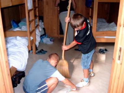 Nyári tábor 2007 Szentgyörgyvölgy